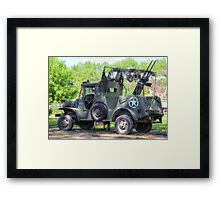 World War 2 Dodge WC Series Vehicle Framed Print