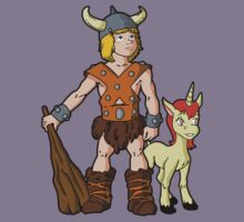 Bobby The Barbarian & Uni The Unicorn Kids Clothes