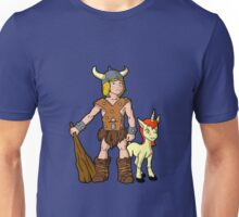Bobby The Barbarian & Uni The Unicorn Unisex T-Shirt