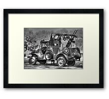 World War 2 Dodge WC Series Vehicle Framed Print