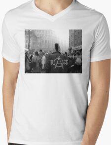 Photograph Berlin Punk wearing Crass jacket Mens V-Neck T-Shirt