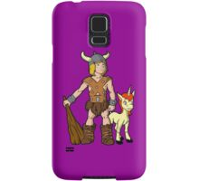 Bobby The Barbarian & Uni The Unicorn Samsung Galaxy Case/Skin