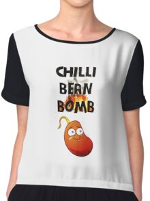 Chilli Bean Bomb Chiffon Top