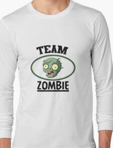 Team Zombie Long Sleeve T-Shirt