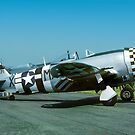 "P-47D Thunderbolt 45-49192 G-THUN ""No Guts no Glory"" by Colin Smedley"