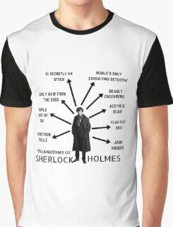 The Anatomy of Sherlock Holmes Graphic T-Shirt