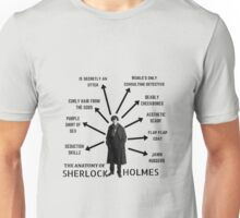 The Anatomy of Sherlock Holmes Unisex T-Shirt