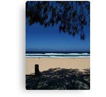 Surf and Shadow Canvas Print