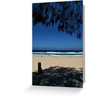 Surf and Shadow Greeting Card
