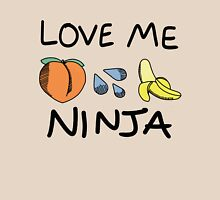 Love Me Ninja Womens Fitted T-Shirt