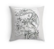 Dragon RH Throw Pillow