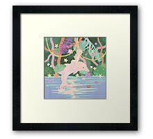 Mermaidens Framed Print