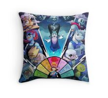 Awesome Undertale Art Throw Pillow