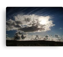 Lonesome Road Canvas Print