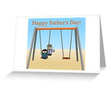 Father's Day - Swing Greeting Card