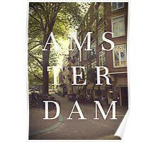 AMS TER DAM Poster
