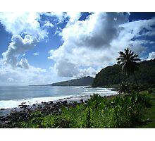 Samoan Coastline Photographic Print
