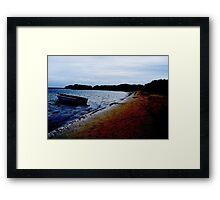Robinson Crusoe Island Framed Print