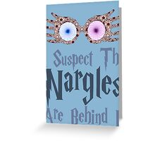 Harry Potter - Nargles Greeting Card