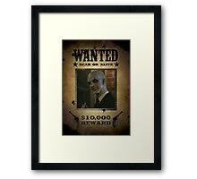 Buffy The Gentlemen Wanted Framed Print
