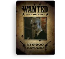 Buffy The Gentlemen Wanted Canvas Print