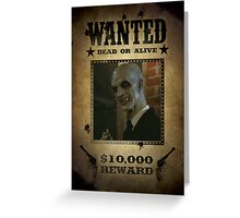 Buffy The Gentlemen Wanted Greeting Card