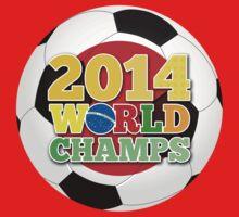 2014 World Champs Ball - Japan One Piece - Short Sleeve