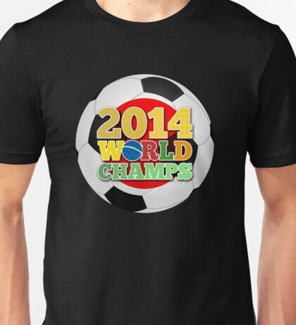 2014 World Champs Ball - Japan Unisex T-Shirt