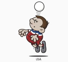 2014 World Cup T-Shirts - USA by spaghettiarts