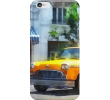Vintage Checkered Cab iPhone Case/Skin