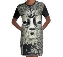 tree shaman Graphic T-Shirt Dress