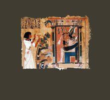Papyrus illustration from the egyptian Book of the Dead | Ilustración en papiro del Libro de los Muertos egipcio Unisex T-Shirt