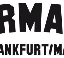 GERMANY FRANKFURT/MAIN Sticker