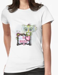Be original by Alicia Mujica Womens Fitted T-Shirt