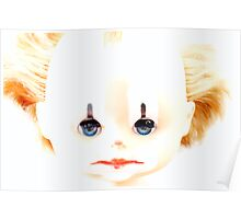 sleeping dolly - clown Poster