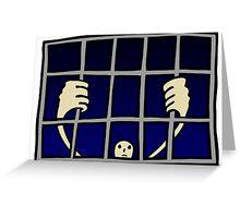 prisoner Greeting Card
