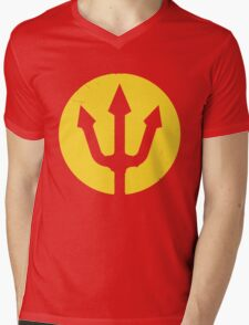 Belgian Red Devils Mens V-Neck T-Shirt