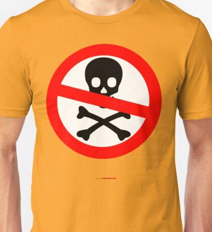 No Pirates T-shirt Design Unisex T-Shirt
