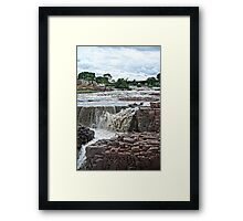 Raging River Framed Print
