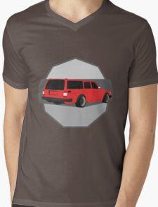 245 Hauler red Mens V-Neck T-Shirt