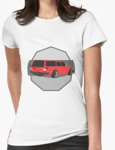 245 Hauler red Womens Fitted T-Shirt
