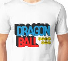 Dragon ball logo Unisex T-Shirt
