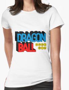 Dragon ball logo Womens Fitted T-Shirt