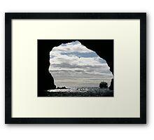 New Zealand Seascape Framed Print