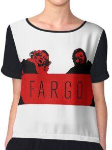 Fargo - We Clean It Up Chiffon Top