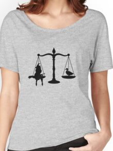 May we burn her? Women's Relaxed Fit T-Shirt