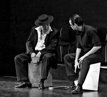 Playing The Cajon by SuddenJim