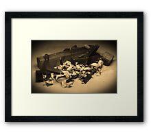 The Cabinet Maker Framed Print