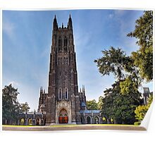 The Gothic Cathedral of Duke University Poster