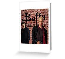 Buffy Angel Spike  Greeting Card
